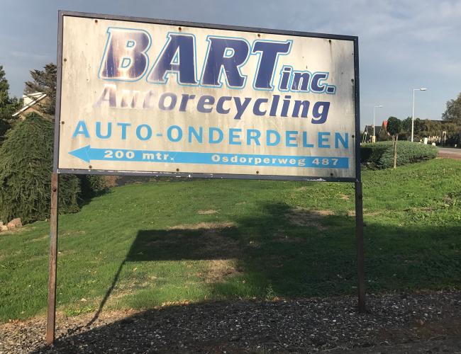 Bart Autorecycling en onderdelen