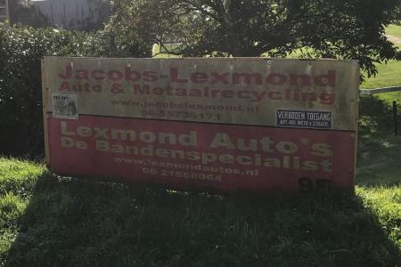 Jacobs Lexmond Auto- & Metaalrecycling