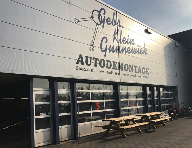 Autodemontagebedrijf Klein Gunnewiek