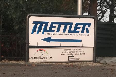 Autodemontage- en bergingsbedrijf Mettler BV