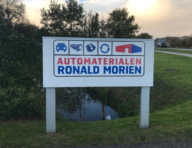 Automaterialen Ronald Morien