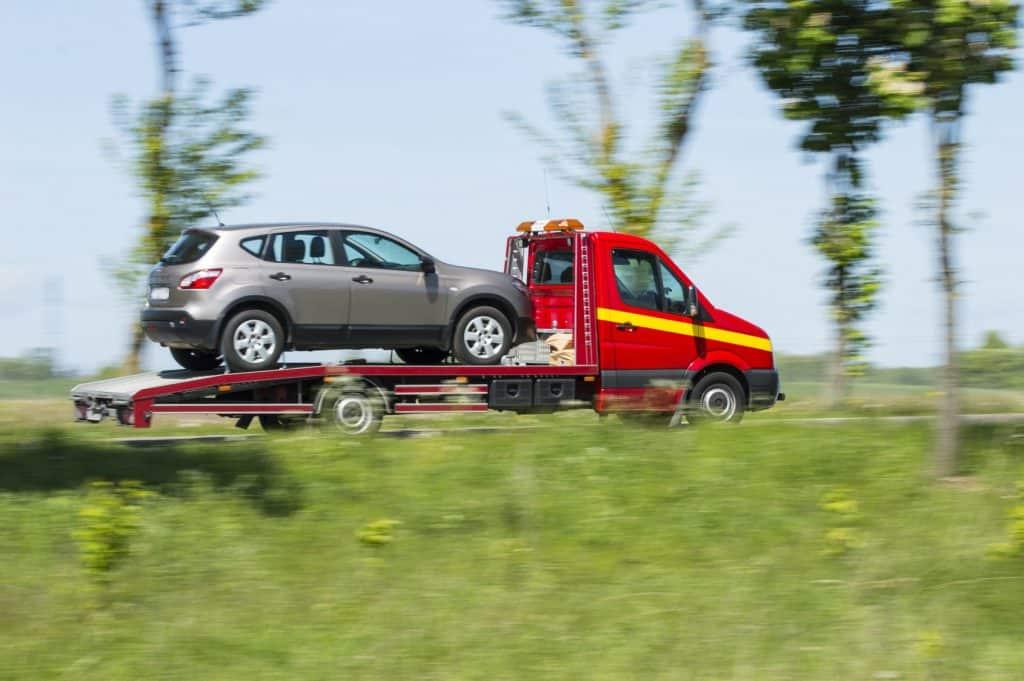 auto afvoeren