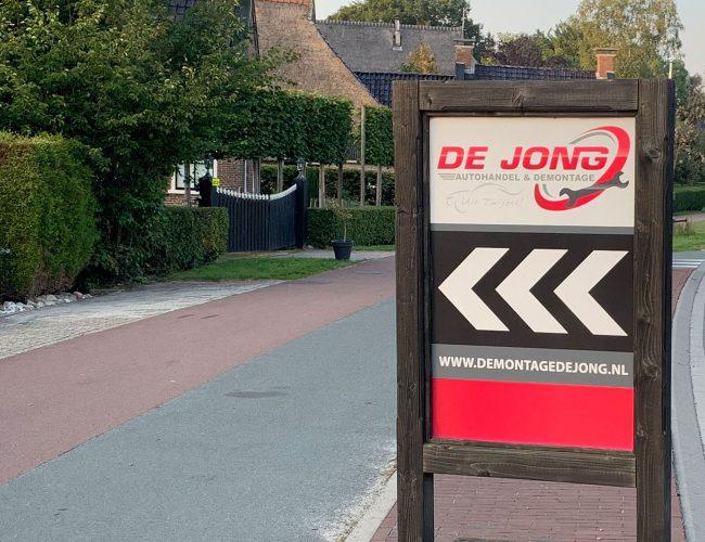 De Jong Autodemontage