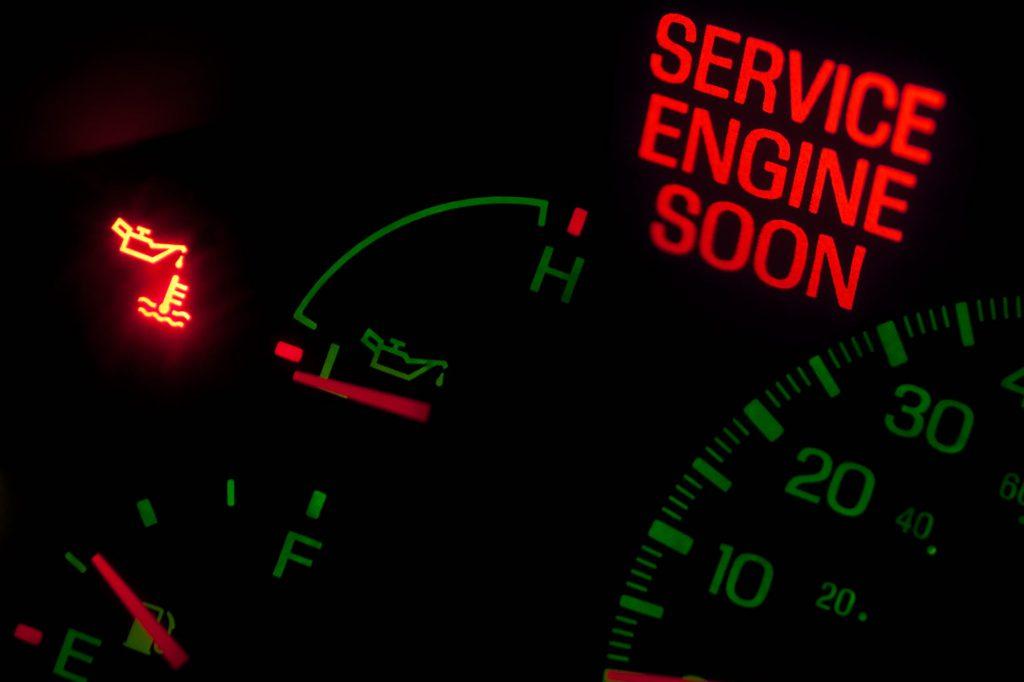 Sensor auto kapot