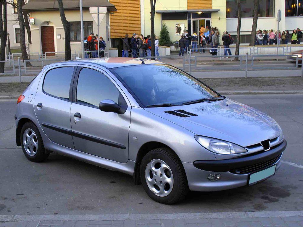 Peugeot 206 verkopen